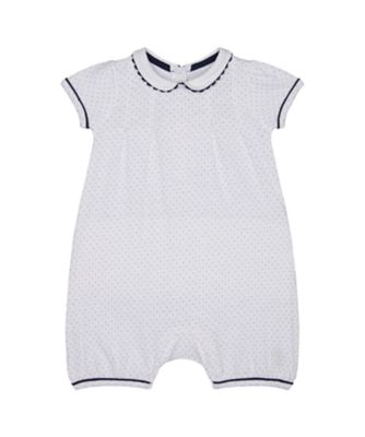 Mothercare Heritage Spot Frill Romper