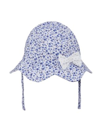 Mothercare Heritage Blue Ditsy Sun Hat