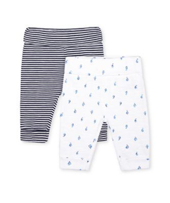 Mothercare Heritage Sail Boat And Stripe Joggers - 2 Pack