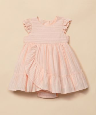 Mothercare Special Collection Lurex Stripe Frill Dress
