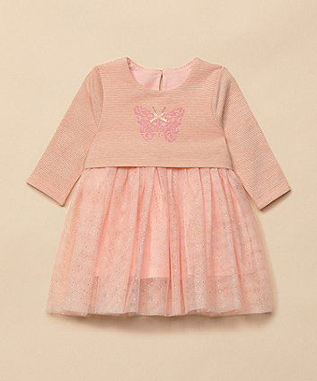 Mothercare Butterfly Sparkle Mesh Dress