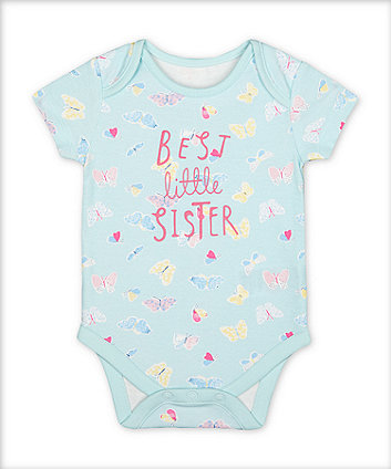 Mothercare Best Little Sister Bodysuit