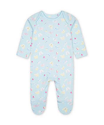 Mothercare Mint Butterfly All In One