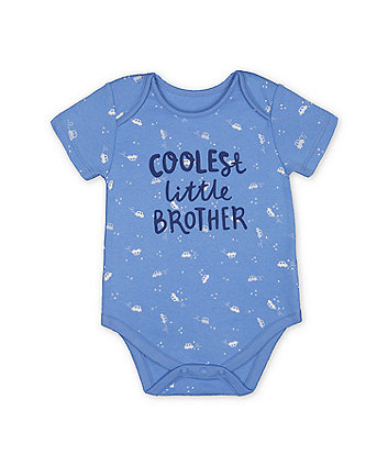 Mothercare Best Little Brother Bodysuit