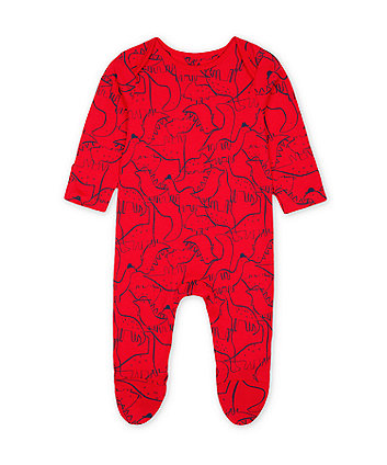 Mothercare Red Dinosaur All In One