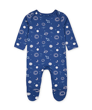 Mothercare Navy Space All In One