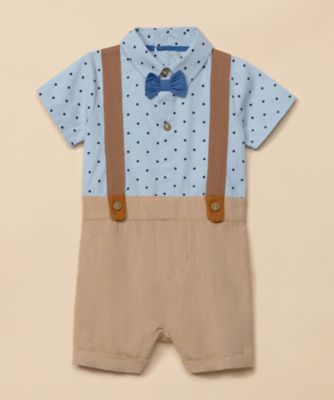 Mothercare Special Collection Woven Braces Romper