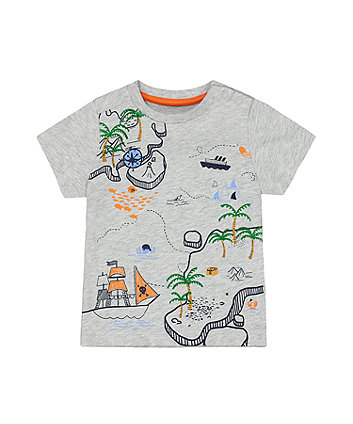 Mothercare Treasure Map T-Shirt