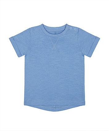 Mothercare Fashion Pale Blue T-Shirt