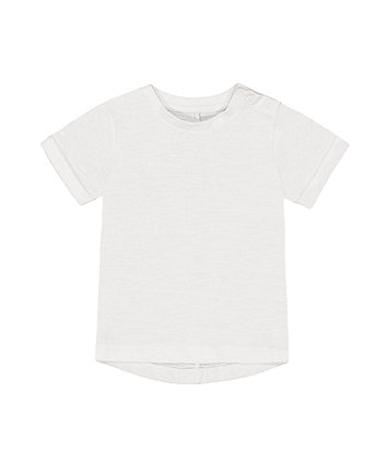 Mothercare Fashion White T-Shirt