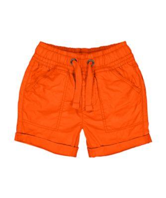 Mothercare Ahoy Matey Orange Poplin Shorts