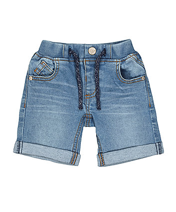 Mothercare Denim Shorts - Light-Wash