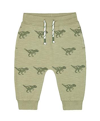Mothercare Green Dinosaur Joggers