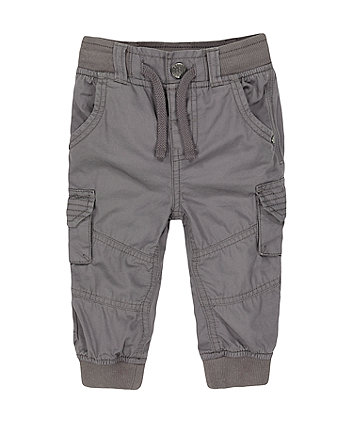 Mothercare Grey Cargo Trousers