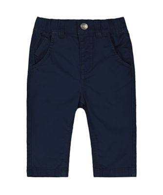 Mothercare Ahoy Matey Navy Smart Trousers