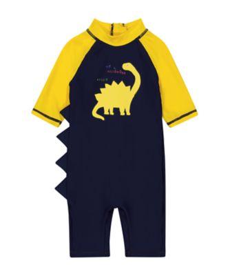 Mothercare Navy Dinosaur Sunsafe
