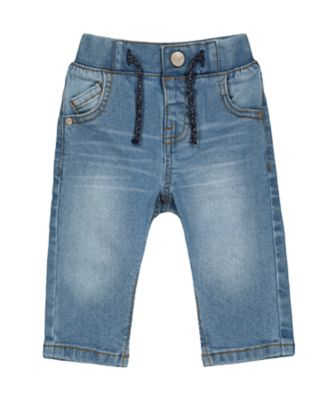 Mothercare EPP Low Wash Rib Waist Denim Jean