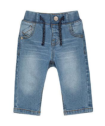 Mothercare Light-Wash Denim Jeans