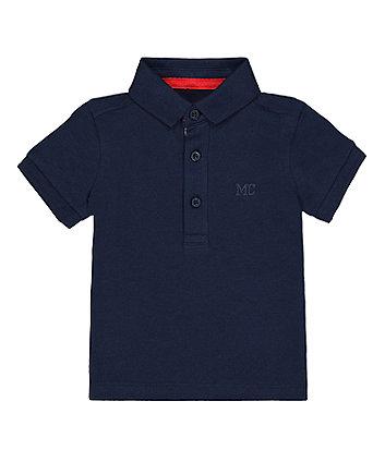 Mothercare Navy Mc Polo Shirt