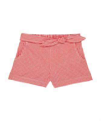 Mothercare Street Mania Red Gingham Shorts