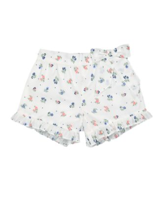 Mothercare Go West Floral Frilled Shorts