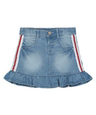 Mothercare Street Mania Light-Wash Denim Skirt