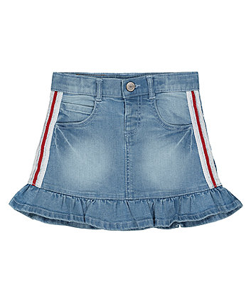 Mothercare Light-Wash Denim Skirt