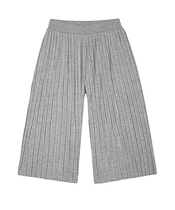 Mothercare Grey Marl Palazzo Wide-Leg Trousers