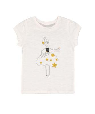 Mothercare Fairytale White Ballerina T-Shirt
