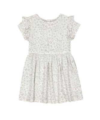 Mothercare Fairytale Grey Leopard Short Sleeve Dress