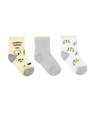 Mothercare Tiger Socks - 3 Pack
