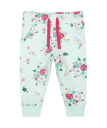 Mothercare Floral Joggers