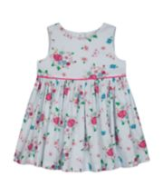 Mothercare Turquoise Floral Dress