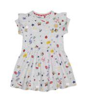 Mothercare Grey Printed Dress