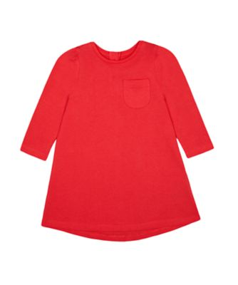Mothercare Red Alert Red EPP Jersey Dress