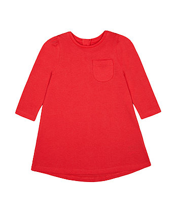 Mothercare Fashion Red Jersey Dress