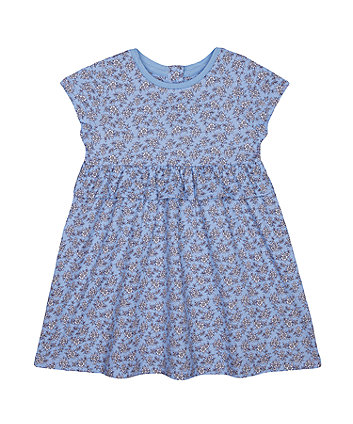 Mothercare Fashion Blue Floral Dress