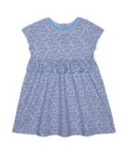 Mothercare Blue Floral Dress
