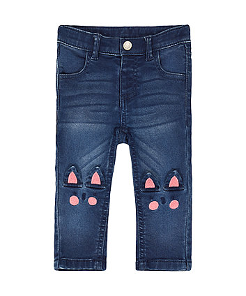 Mothercare Cat-Knee Jeans