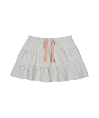 Mothercare MC61 Grey Marl Tiered Skirt