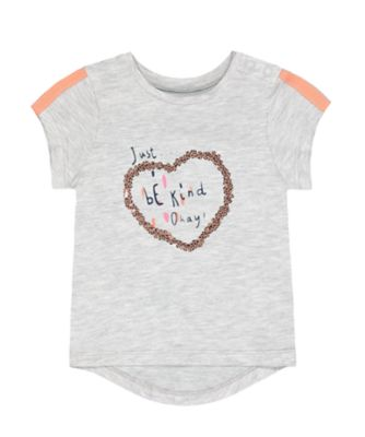 Mothercare MC61 Just Be Kind Short Sleeve T-Shirt