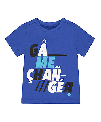 Mothercare Blue Game Changer T-Shirt