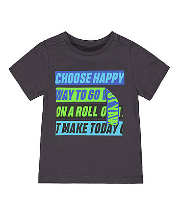 Mothercare Choose Happy T-Shirt