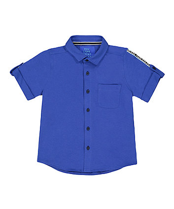 Mothercare Blue Shirt
