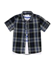 Mothercare Checked Shirt And T-Shirt Set