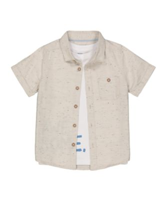 Mothercare Beachcomber Awesome Shirt And T-Shirt Set