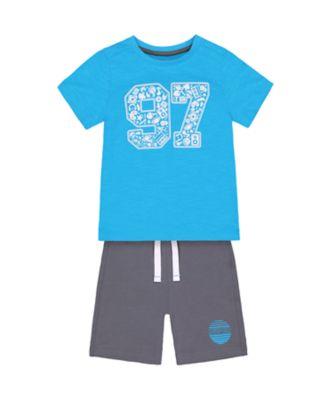 Mothercare Escape Games Super T-Shirt And Shorts Set