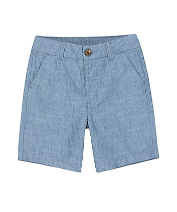 Mothercare Chambray Chino Shorts