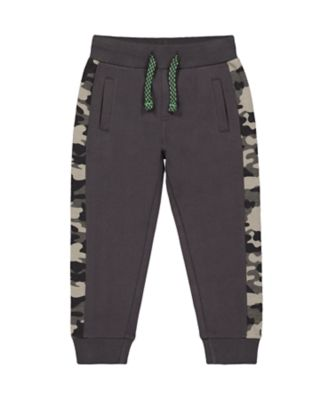 Mothercare Dinomite Black And Camo Joggers