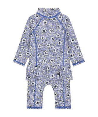 Mothercare Floral Sun Safe Suit